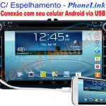 Central Multimídia VW Jetta/Tiguan/Amarok 2008 a 2015 – PhoneLink